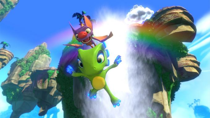 Bild aus dem Jump and Run Yooka-Laylee