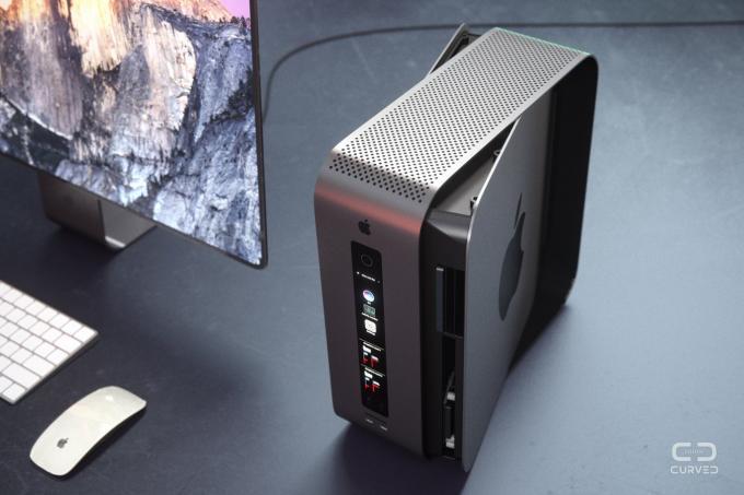 So könnte der neue Mac Pro aussehen
