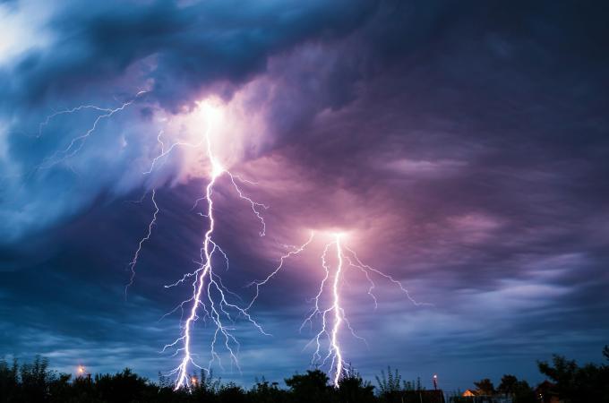 Ein Unwetter zieht auf