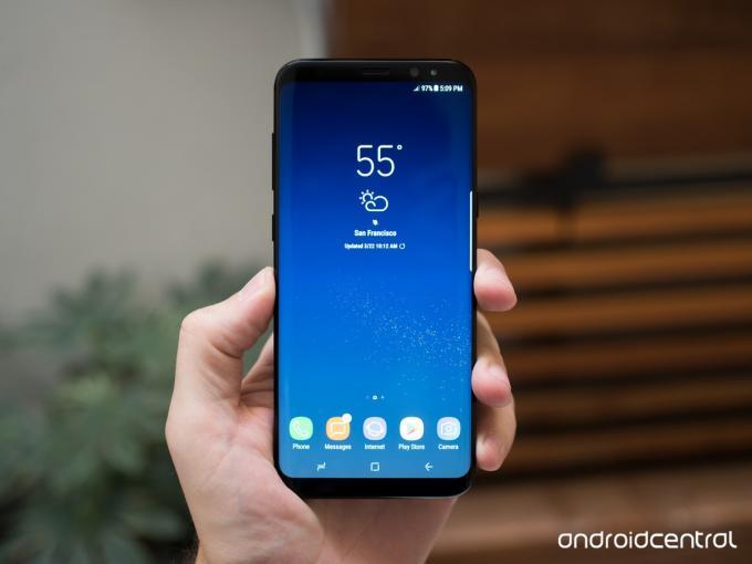 Samsung Galaxy S8+ in Schwarz