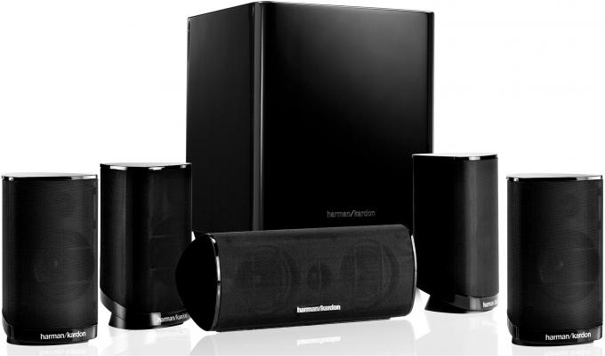 Harman/Kardon HKTS 5BK/230 Surround-System