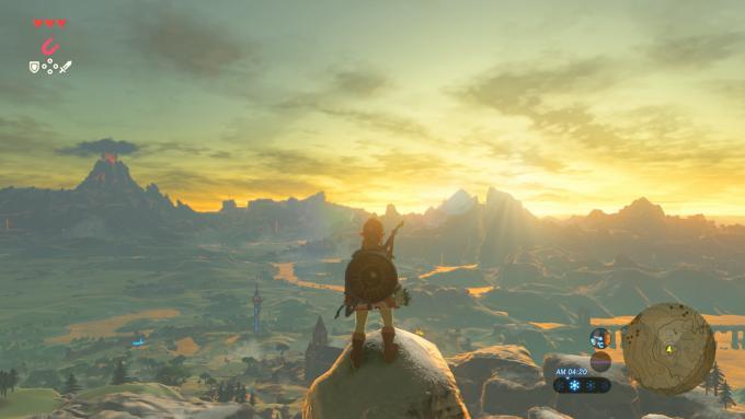 Zelda zaubert eine beeindruckende Fantasywelt auf den Bildschirm.