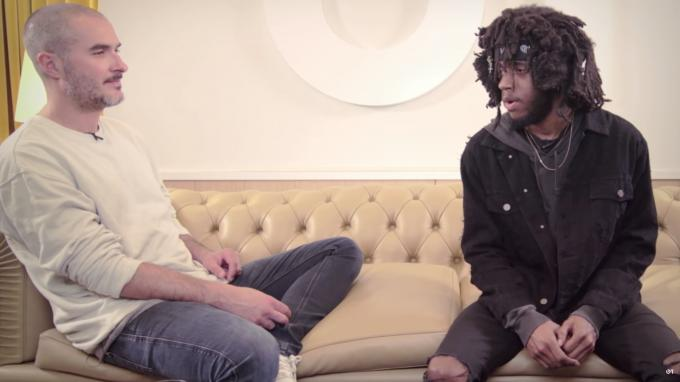 """Beats 1""-DJ Zane Lowe im Interview mit 6LACK"