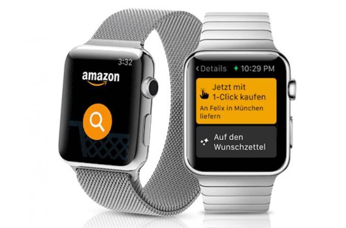 Die Amazon-App für die Apple Watch gibt es nicht mehr.