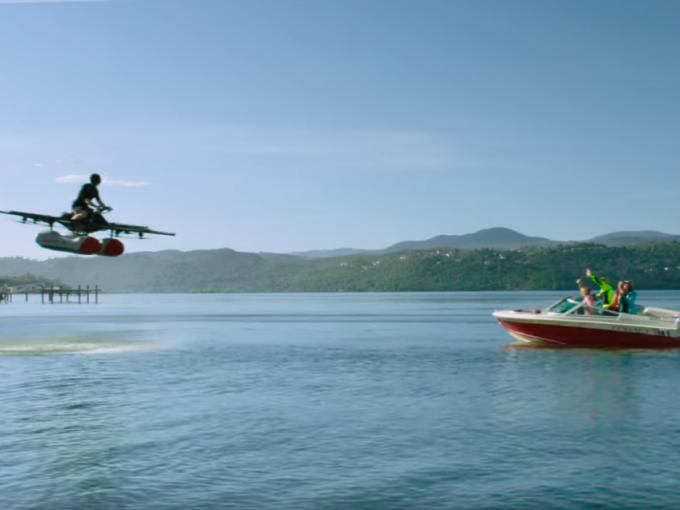 """""""Kitty Hawk"""" ist für das Fliegen über Wasser gedacht"""