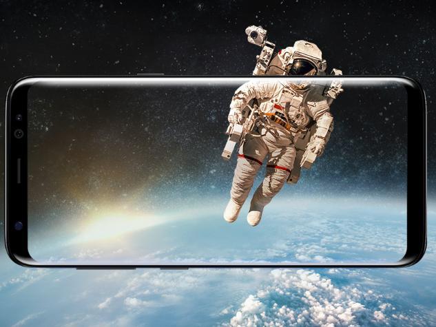 Das Infinity Display des Galaxy S8 ist eindrucksvoll