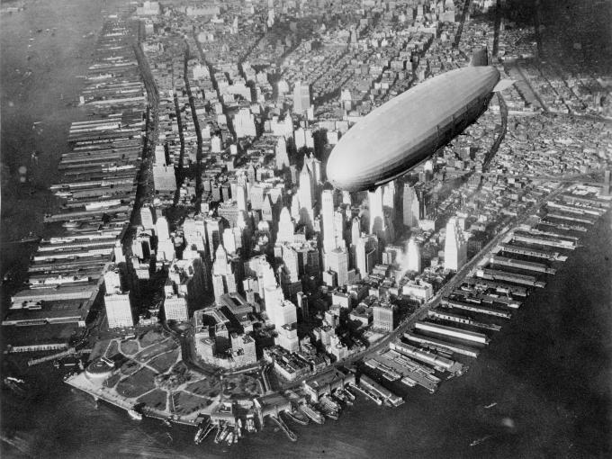 Zeppeline sind seit den 1930ern nicht mehr relevant
