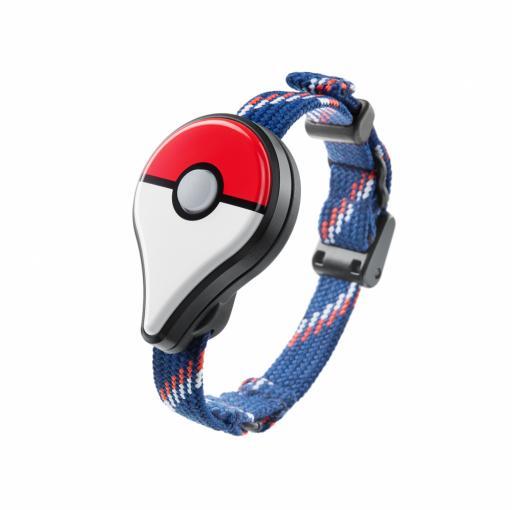 Pokémon GO Plus Bluetooth-Dongle lässt sich auch am Arm tragen
