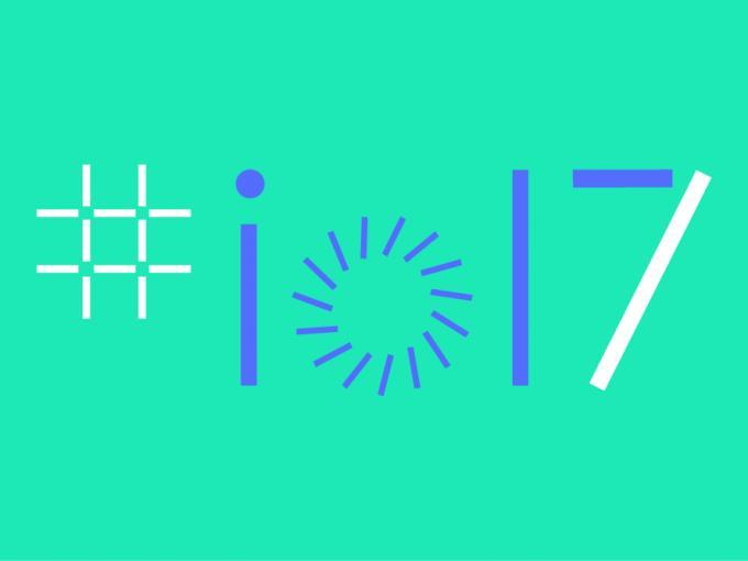 Logo zur I/O 2017 Entwicklerkonferenz von Google