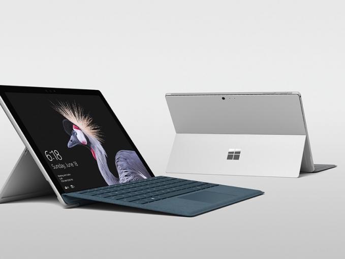 Das neue Surface Pro von Microsoft