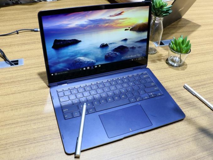 Das Asus ZenBook Flip S können Sie mit dem Asus Pen zusammen nutzen