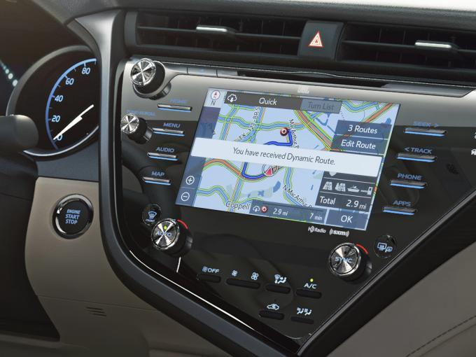 Infotainment-System von Toyota auf Basis von Linux