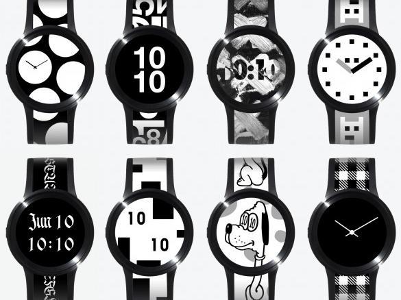 FES Watch U von Sony bietet viele Designs