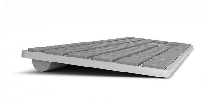 Microsofts neues Modern Keyboard mit Fingerabdrucksensor