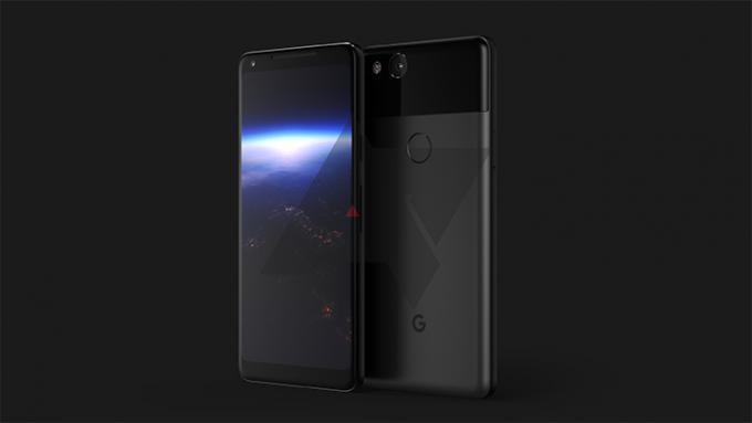 Sieht so das Pixel XL 2 von Google aus?