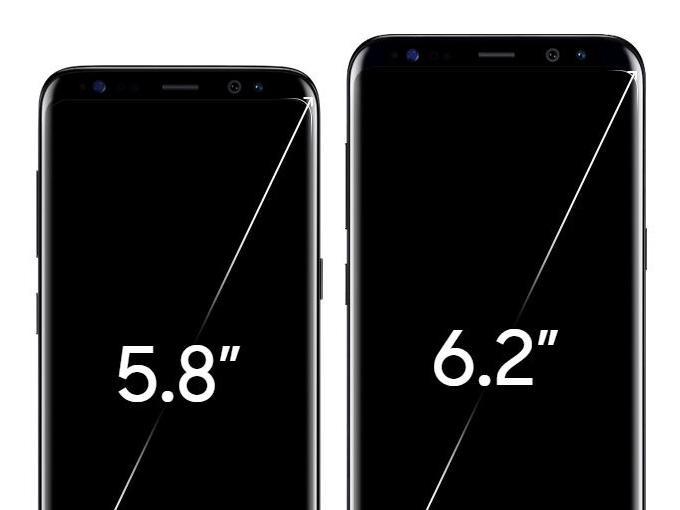 Das Galaxy S8 und S8+, wird das Note 8 noch größer?