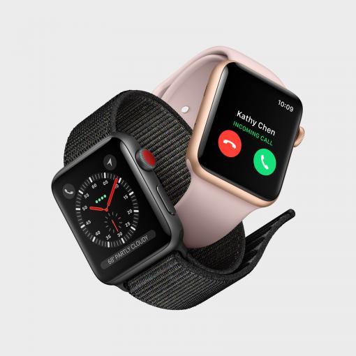 Die neue Watch Series 3 gibt es mit Mobilfunk-Funktionalität