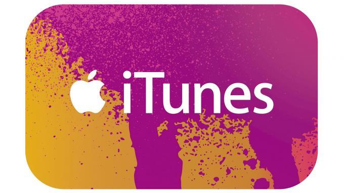 iTunes-Karte