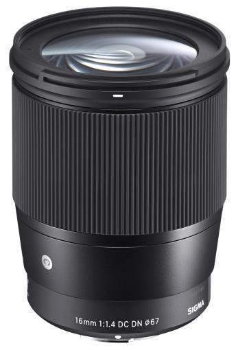 Sigma 16mm F1.4 DC DN: Neues lichtstarkes Weitwinkel