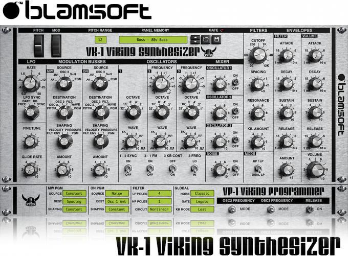 BlamsoftVK-1 VikingSynthesizer