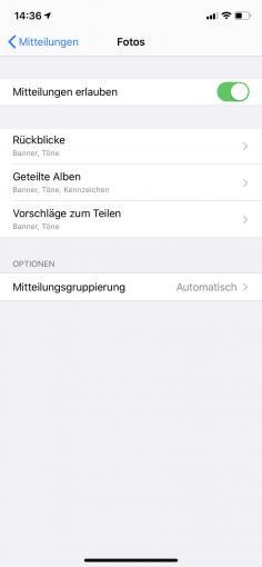 Hier verpassen Sie nichts! Benachrichtigungen in iOS verwalten