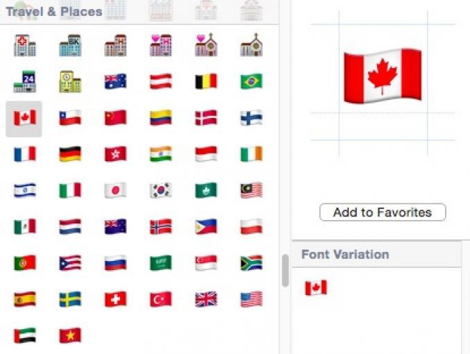 Neue Flaggen in OS X und iOS