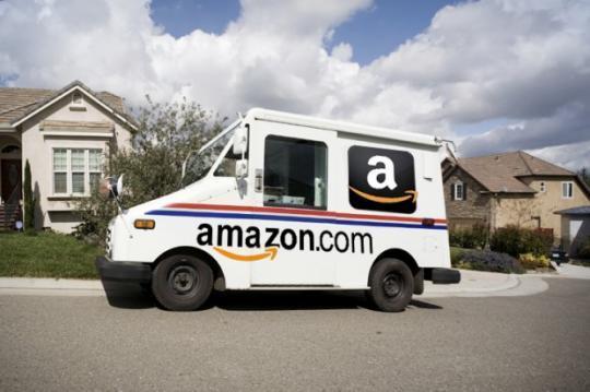 Amazon-Lieferwagen