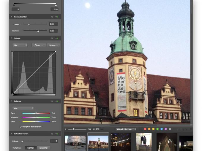 Bondestruktive Bildverarbeitung in GraphicConverter 9