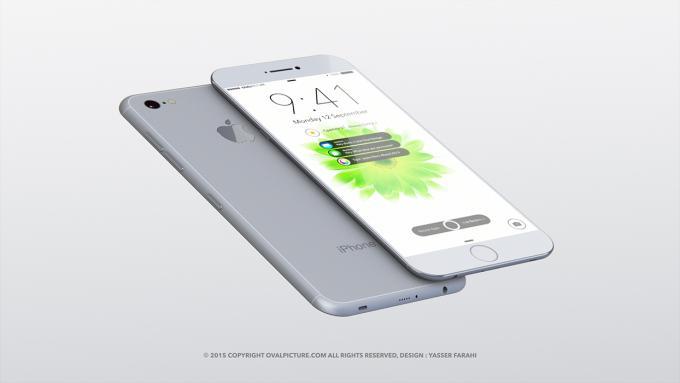 So stellt sich er Designer Yasser Farahi das iPhone 7 vor.