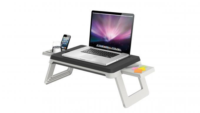 Mit dem AlwaysOn Station - Laptop Tisch können Sie überall ungestört arbeiten.