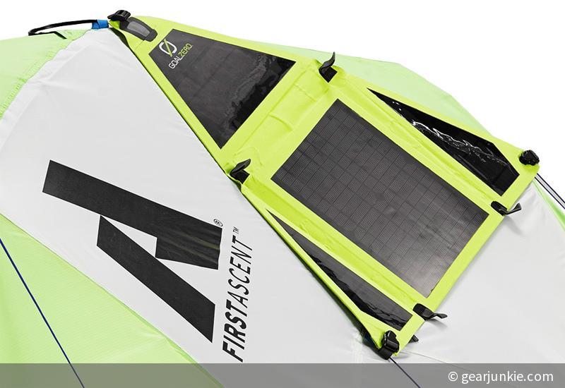 Strom in der Pampa: Solar-Zelt von Eddie Bauer