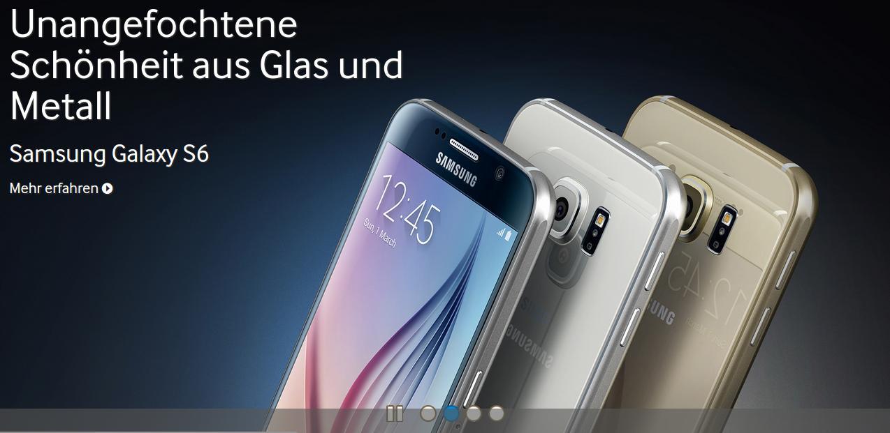 Hands-On: Galaxy S6 ohne microSD-Karten-Slot aber mit ...