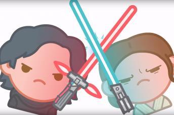 """Zuckersüß: """"Star Wars: Das Erwachen der Macht"""" in Emojis nacherzählt"""