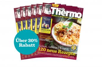 meinThermo: Die besten Rezepte für den Thermomix – Jahresabo nur noch kurze Zeit zum Einführungspreis