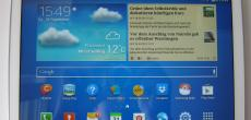 Samsung Galaxy Tab 3 10.1 getestet