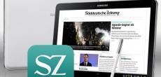 Samsung: Gratis-SZ-Jahresabo beim Kauf eines Samsung Galaxy Note 10.1