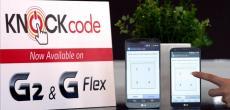 LG G2 & G Flex PIN adé: Anklopfen entsperrt Smartphones