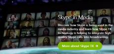 Microsoft plant Skype TX für professionelle Studioaufnahmen
