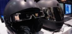 Für mehr Sicherheit: Motorradhelm mit HUD-Display