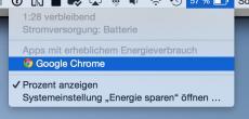 Google will Chrome den Energiehunger abgewöhnen