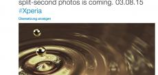 Sony: Twitter-Teaser kündigt Smartphone mit schneller Kamera an