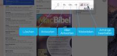 OS X 10.10 Yosemite Video-Tipp: Funktionsumfang der E-Mail-App voll ausnutzen – so geht's