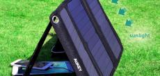 iPhone per Solarstrom laden: Aukey-Ladegerät mit Rabatt kaufen