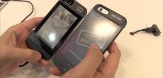 Oaxis InkCase: iPhone-Hülle samt eBook-Reader für veränderbare Motive auf der Rückseite