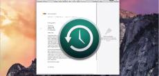 OS X 10.10 Yosemite Video-Tipp: Dokumente mit Time Machine als Backup sichern – so geht's