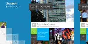 Foursquare für Windows 8 verfügbar