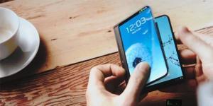 Faltbares Display von Samsung 2015 marktreif