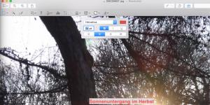 OS X 10.10 Yosemite Video-Tipp: Fotos mit Digitale Bilder bearbeiten – so geht's